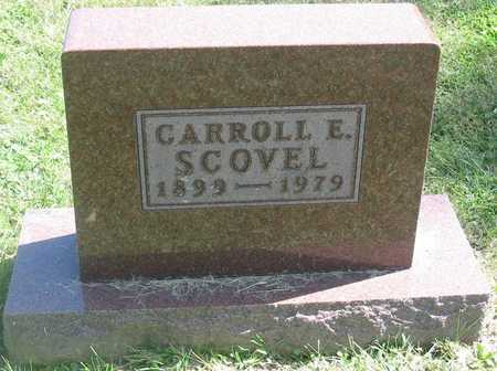 SCOVEL, CARROLL E. - Polk County, Iowa | CARROLL E. SCOVEL