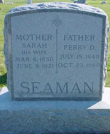 SEAMAN, PERRY D. - Polk County, Iowa | PERRY D. SEAMAN