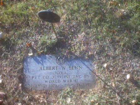 SENN, ALBERT W. - Polk County, Iowa | ALBERT W. SENN