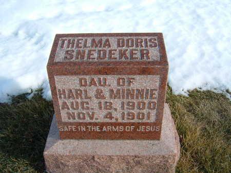 SNEDEKER, THELMA DORIS - Polk County, Iowa | THELMA DORIS SNEDEKER