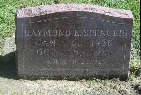 SPENCER, RAYMOND E. - Polk County, Iowa | RAYMOND E. SPENCER