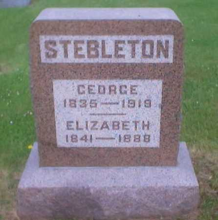 STEBLETON, GEORGE - Polk County, Iowa | GEORGE STEBLETON