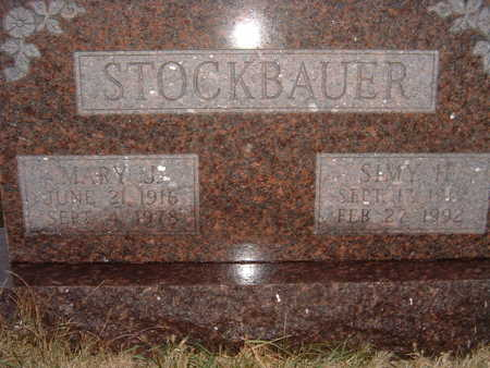 STOCKBAUER, MARY J. - Polk County, Iowa | MARY J. STOCKBAUER