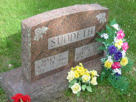 SUDDETH, EUGENE - Polk County, Iowa | EUGENE SUDDETH
