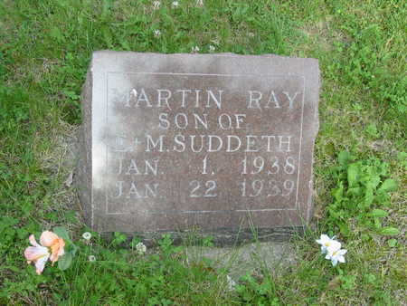SUDDETH, MARTIN RAY - Polk County, Iowa | MARTIN RAY SUDDETH