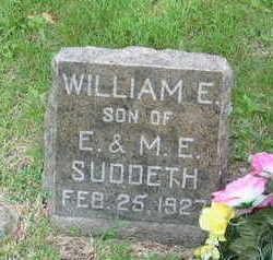 SUDDETH, WILLIAM E. - Polk County, Iowa | WILLIAM E. SUDDETH