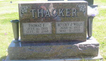 THACKER, THOMAS E. - Polk County, Iowa | THOMAS E. THACKER