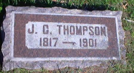 THOMPSON, J. G. - Polk County, Iowa | J. G. THOMPSON