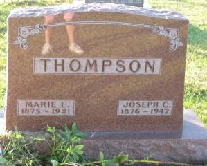 THOMPSON, MARIE - Polk County, Iowa | MARIE THOMPSON