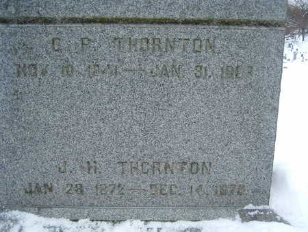 THORNTON, J. H. - Polk County, Iowa | J. H. THORNTON