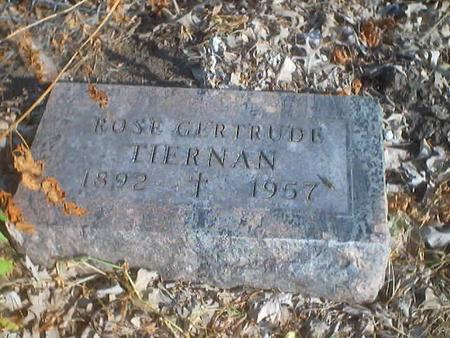 TIERNAN, ROSE GERTRUDE - Polk County, Iowa | ROSE GERTRUDE TIERNAN