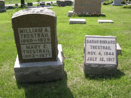 TRESTRAIL, WILLIAM A. - Polk County, Iowa | WILLIAM A. TRESTRAIL