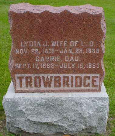 TROWBRIDGE, LYDIA J. - Polk County, Iowa | LYDIA J. TROWBRIDGE