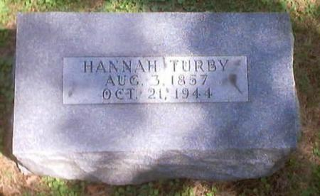TURBY, HANNAH - Polk County, Iowa | HANNAH TURBY