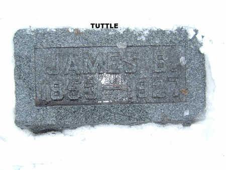 TUTTLE, JAMES B. - Polk County, Iowa | JAMES B. TUTTLE