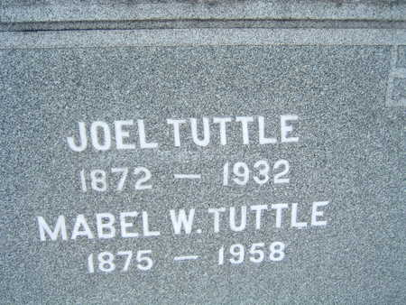 TUTTLE, JOEL - Polk County, Iowa | JOEL TUTTLE