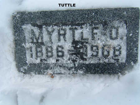 TUTTLE, MYRTLE O. - Polk County, Iowa | MYRTLE O. TUTTLE