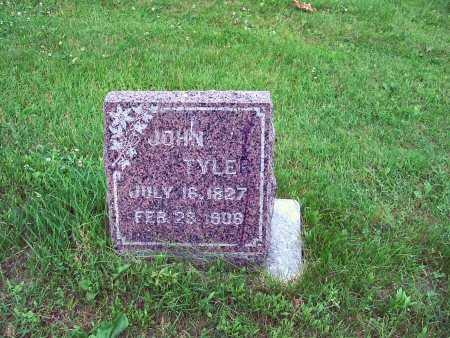 TYLER, JOHN - Polk County, Iowa | JOHN TYLER