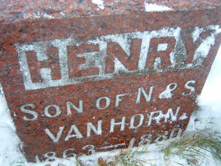 VAN HORNE, HENRY - Polk County, Iowa | HENRY VAN HORNE