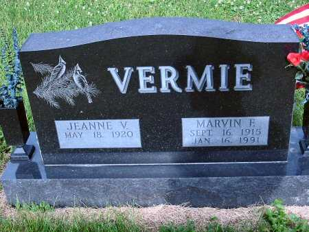 VERMIE, MARVIN F. - Polk County, Iowa | MARVIN F. VERMIE