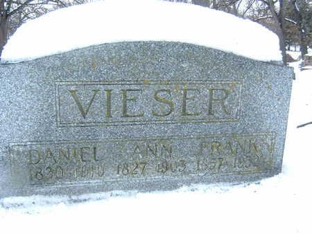 VIESER, ANN - Polk County, Iowa | ANN VIESER