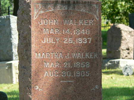 WALKER, MARTHA J. - Polk County, Iowa | MARTHA J. WALKER