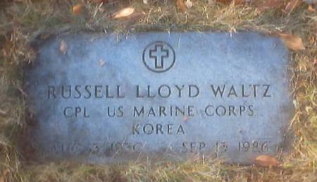 WALTZ, RUSSELL LLOYD - Polk County, Iowa | RUSSELL LLOYD WALTZ