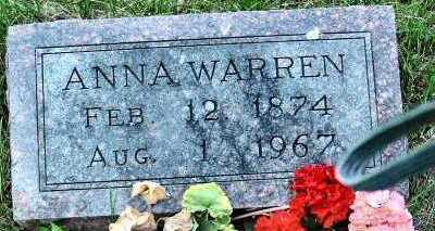 WARREN, ANNA - Polk County, Iowa | ANNA WARREN
