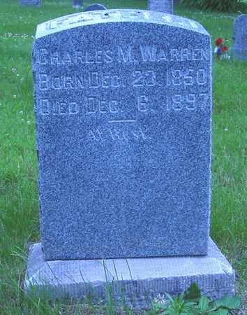 WARREN, CHARLES M. - Polk County, Iowa | CHARLES M. WARREN