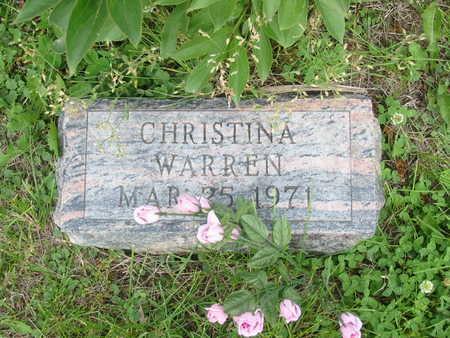 WARREN, CHRISTINA - Polk County, Iowa | CHRISTINA WARREN