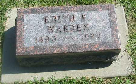 WARREN, EDITH P. - Polk County, Iowa | EDITH P. WARREN