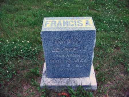 WARREN, FRANCIS A. - Polk County, Iowa | FRANCIS A. WARREN