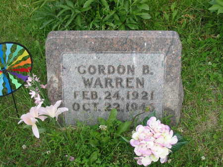 WARREN, GORDON B. - Polk County, Iowa | GORDON B. WARREN