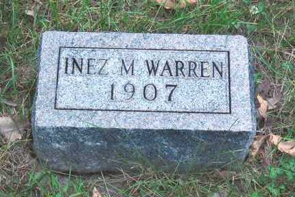 WARREN, INEZ M - Polk County, Iowa | INEZ M WARREN