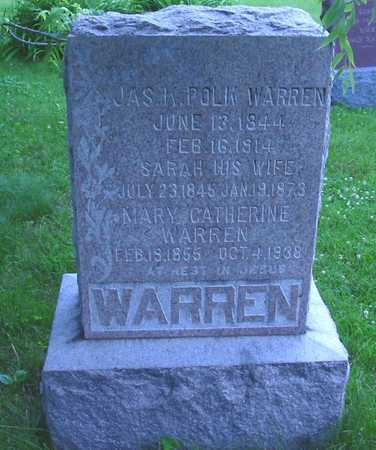 WARREN, SARAH - Polk County, Iowa | SARAH WARREN
