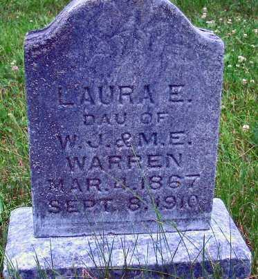 WARREN, LAURA E. - Polk County, Iowa | LAURA E. WARREN
