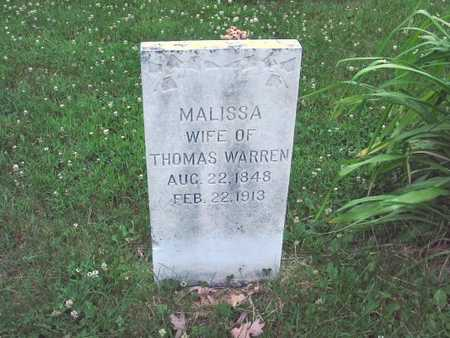 WARREN, MALISSA - Polk County, Iowa | MALISSA WARREN