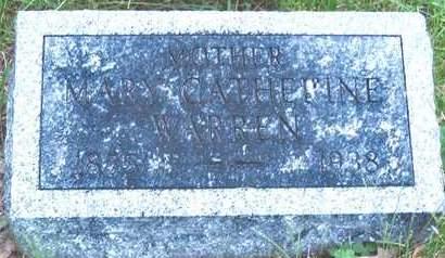 WARREN, MARY CATHERINE - Polk County, Iowa | MARY CATHERINE WARREN