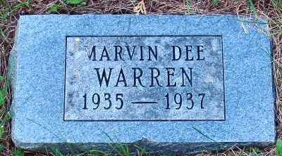 WARREN, MARVIN DEE - Polk County, Iowa | MARVIN DEE WARREN