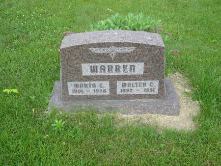 WARREN, WALTER C. - Polk County, Iowa | WALTER C. WARREN