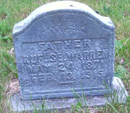 WARREN, RUFUS E. - Polk County, Iowa | RUFUS E. WARREN