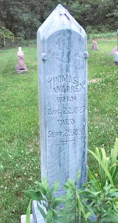 WARREN, THOMAS - Polk County, Iowa | THOMAS WARREN