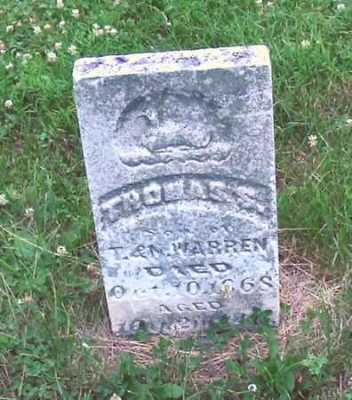 WARREN, THOMAS S. - Polk County, Iowa | THOMAS S. WARREN