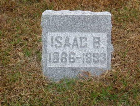 WEBB, ISAAC B. - Polk County, Iowa | ISAAC B. WEBB