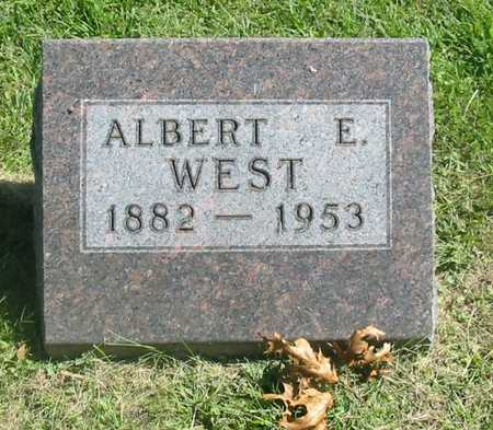 WEST, ALBERT E. - Polk County, Iowa | ALBERT E. WEST