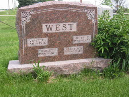 WEST, CHARLEY F. - Polk County, Iowa | CHARLEY F. WEST