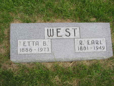 WEST, R. EARL - Polk County, Iowa | R. EARL WEST