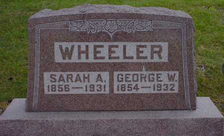 WHEELER, GEORGE W. - Polk County, Iowa | GEORGE W. WHEELER
