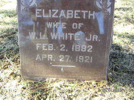 WHITE, ELIZABETH - Polk County, Iowa | ELIZABETH WHITE