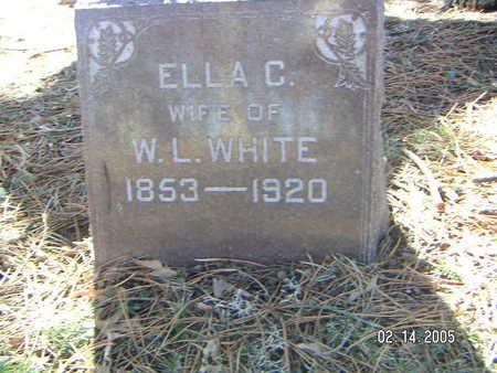 WHITE, ELLA C. - Polk County, Iowa | ELLA C. WHITE